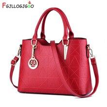 цена на FGJLLOGJGSO New 2019 fashion luxury handbags women bags designer crossbody bags for female PU leather handbags ladies hand bags
