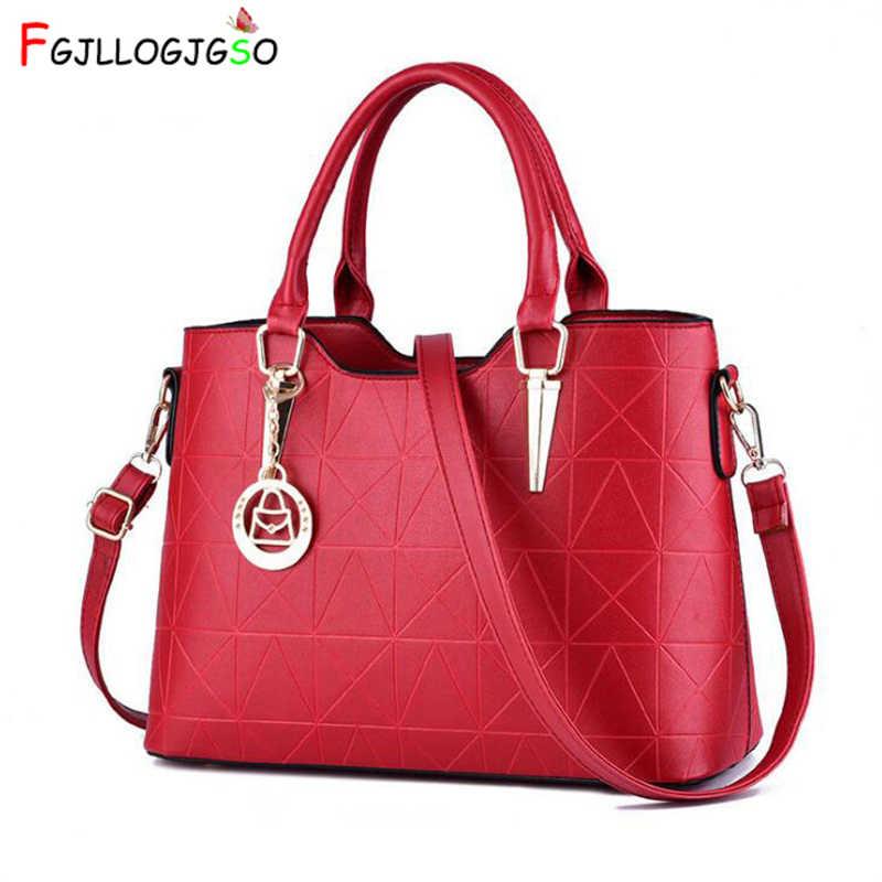 FGJLLOGJGSO Novo 2018 moda bolsas de luxo mulheres sacos designer de crossbody sacos para as mulheres PU bolsas de couro sacos de mão das senhoras