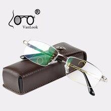 Multifokal Ilerici okuma gözlüğü Erkekler Için Bilgisayar Görüş Temizle Ayarlanabilir Gözlük Kadın Bifocal + 1.0 1.5 2.0 2.5 3 3.5 4