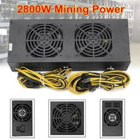 2800W Mining Power Supply With With Four Fans For A6 A7 S5 S7 B3 E9 L3