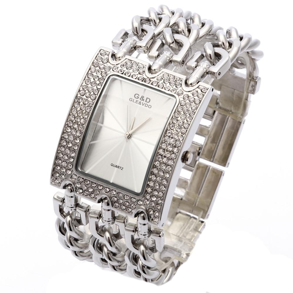 G & D Ρολόγια χεριού Γυναικεία χαλαζία - Γυναικεία ρολόγια - Φωτογραφία 3