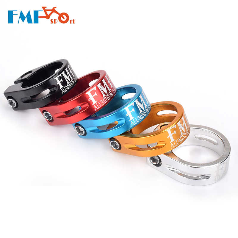 seatpost seat saddle clamp GOLD  31.8mm ROAD BIKE MTB for 27.2 mm 28.6mm