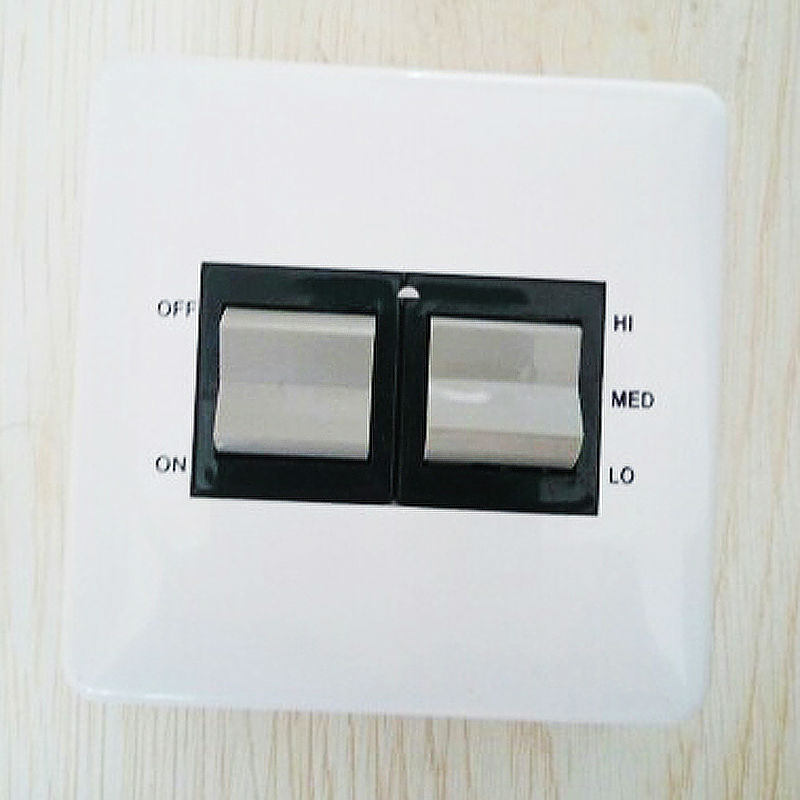 4 POSITION SWITCH for air damper or 3 speed fan coil. High, medium, low controller, four gear motor controller цена