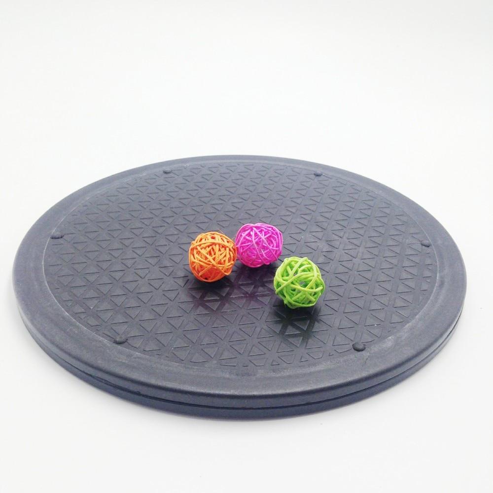 Vrteči se vrtljivi lončenine 25 / 30cm črno kolo okrogle plošče polimerne gline orodje kiparske modele izdelava vrtilne plošče vrti