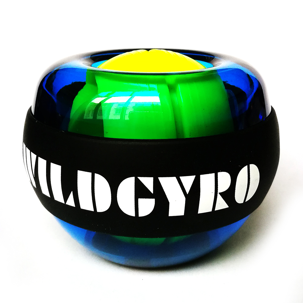 Gyroscope Ball No Light Wrist Power Ball Arm Muscle Relax Exerciser Strengthener Rotor Gym Hand Exerciser Gyro Ball
