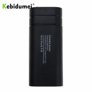 Image 4 - Kebidumei 2X 18650 DIY Box USB Power Bank Battery Charger Case for phone poverbank For iPhone portable charging External Battery