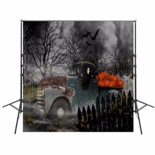 Night Photography Backdrops Halloween Backdrop For Photography Zombie Background For Photo Studio Party Foto Achtergrond