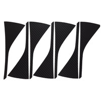 Car Styling 1set 16 Inches Carbon Fiber Wing Wheels Mask Decal Sticker Trim For VW Golf