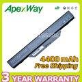 Apexway 6 celdas 4400 mah batería del ordenador portátil para hp compaq 550 510 610 6720 s 6730 s 6735 s 6820 s 6830 s hstnn-ib62 hstnn-ob62 hstnn-ib51
