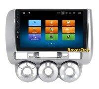 Восьмиядерный Android 8,0 Автомобильный мультимедийный плеер для Honda Jazz Fit 2002 2008 10,2 ''4G + 32 г радио Стерео gps навигации Navi NO DVD