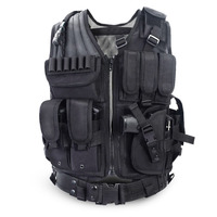 2016 Police Tactical Vest Outdoor Camouflage Military Body Armor Sports Wear Hunting Vest Army Swat Molle