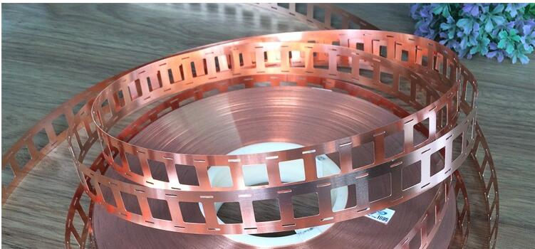 5m/lot 0.2 X 27mm Pure Copper Strap Strip Sheet For 18650 Power Battery Welding 18650 Battery Bracket High Current Connection