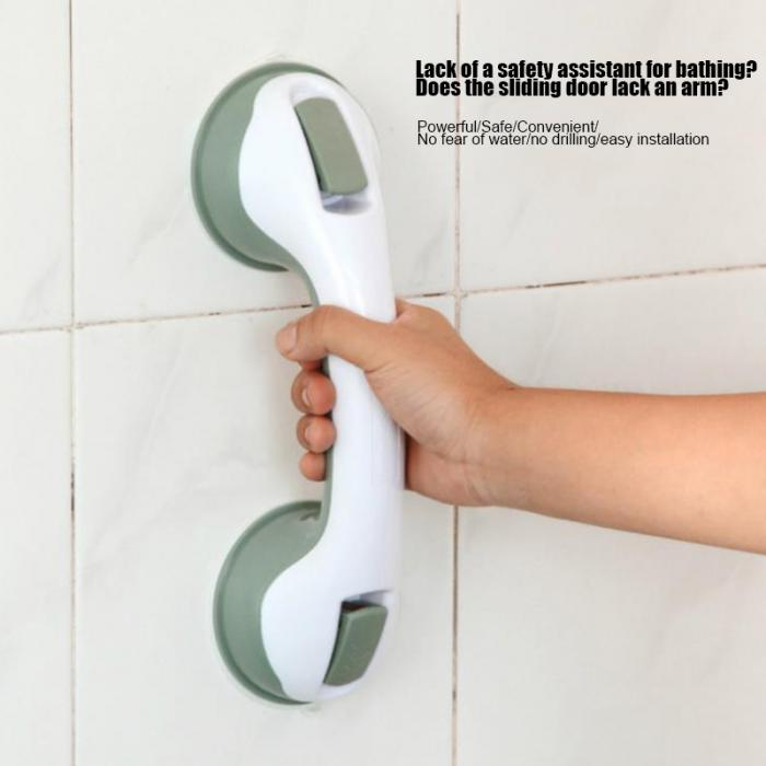 Горячие противоскользящие часы с чашкой на присоске для ванной ручка поручень для пожилых безопасная Ванна Душ Ванна Ванная Душ поручень ручка рельса NE