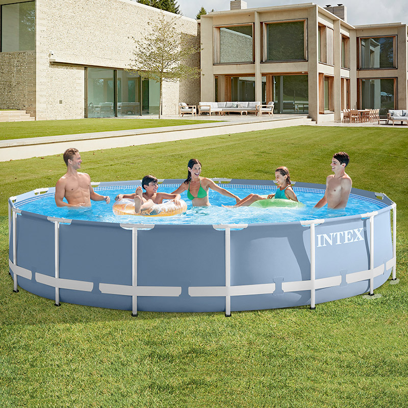 INTEX brand swimming pool thickening children\'s home large pool collapsible  pool fish pond commercial adult