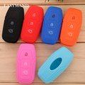 Silicone Car Key Cover Key Protector Case For Ford Focus 2 Focus 3 Escort Kuga Ecosport Fiesta Mondeo EDGE/C-MAX/S-MAX/B-MAX