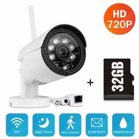 SANNCE HD 720P Smart Wireless IP Camera 1 0MP Wifi Outdoor Surveillance Camera Waterproof CCTV Security