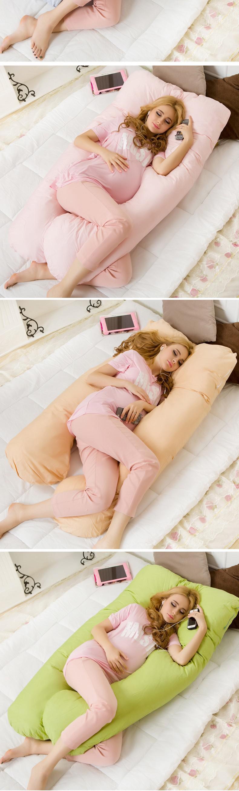 HTB1Ewp4OpXXXXXaapXXq6xXFXXXb - Pregnancy Comfortable U Type Body Pillow For Side Sleep Position