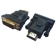 цена на HDMI to DVI Cable Adapter Converter Male to Male 3D 1080P DVI DVI-D 24+1 HDMI Extender Splitter Cable Connector for PC HDTV PS3