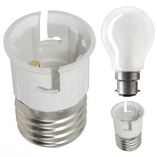 LumiParty E27 к B22 светильник лампа огнеупорный держатель адаптер конвертер Гнездо База конвертер Эдисона винт к байонетной крышке