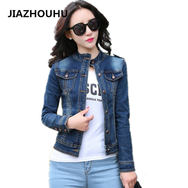 Aliexpress.com : Buy Korean Jean Jacket Women's Spring Denim ...