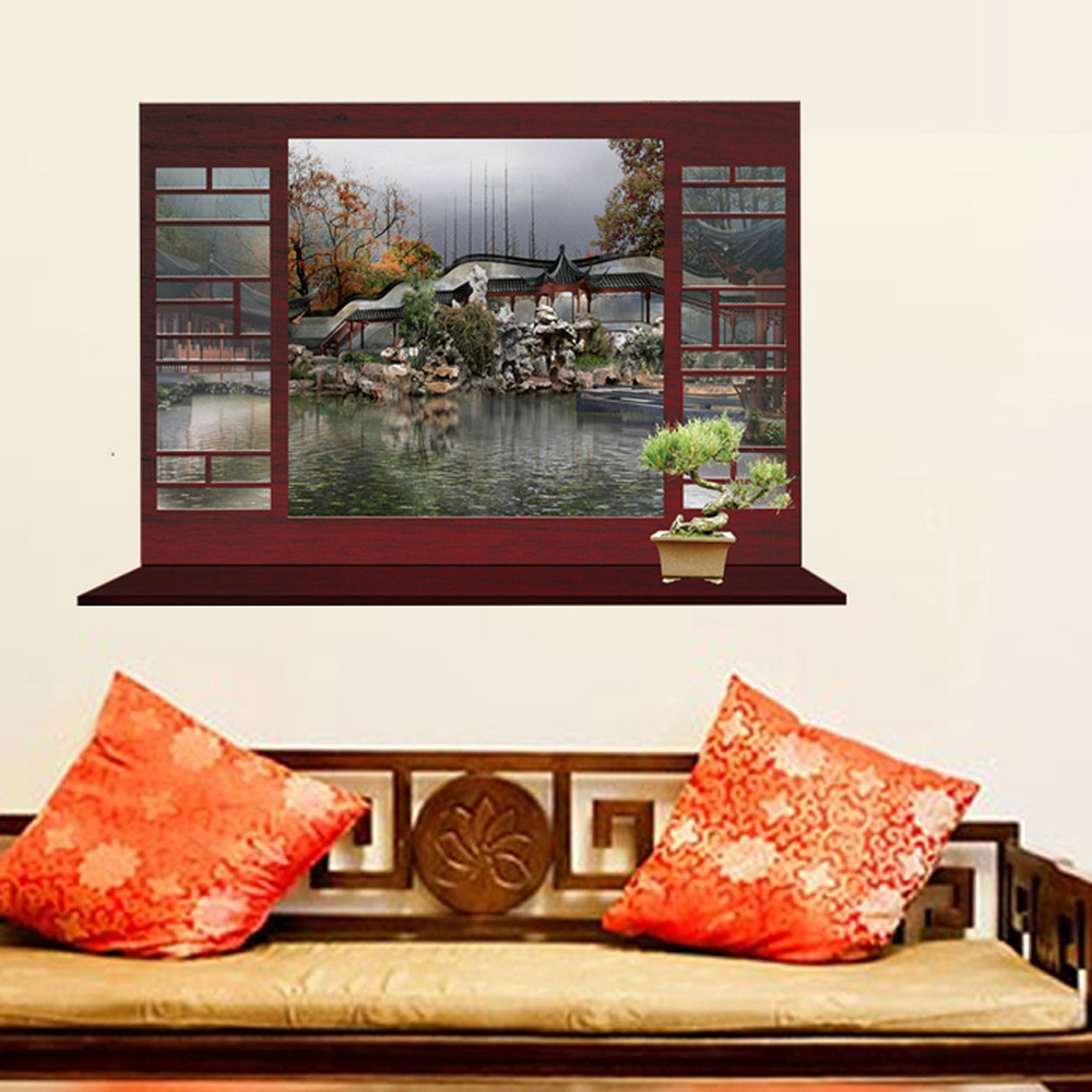 Scenery Wallpaper For Bedroom Popular Wallpaper Fake Buy Cheap Wallpaper Fake Lots From China