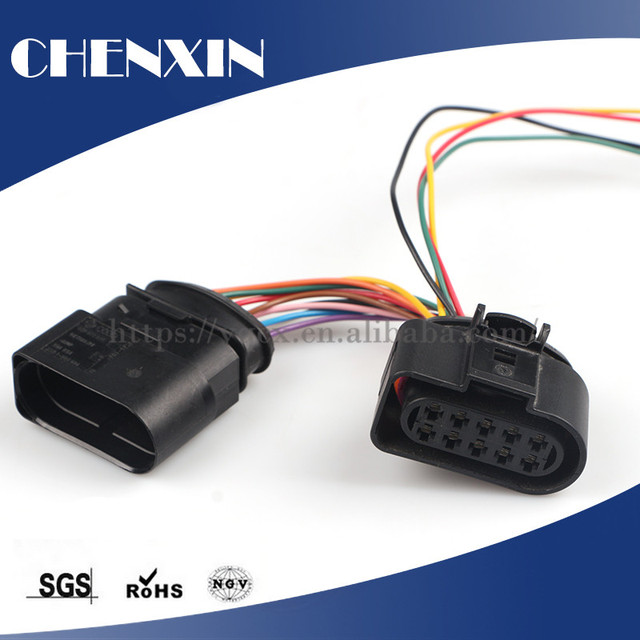 auto connector wire harness electrical automotive vehicle 10pin rh aliexpress com Auto Electrical Harness Connectors GM Wiring Harness Connectors