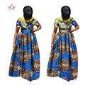 Mujeres de talla grande ropa maxi dress vestidos para las mujeres africanas en africano dashiki corto ropa party dress 4xl otros wy995