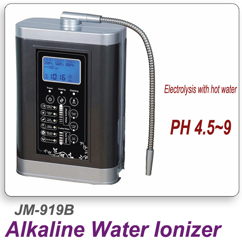 Alkaline water ionizer machine alkaline water regulate body pH balance water ionizer PH 4.5~9 Titanium gold plate Weak alkalinit alkaline electrolysis water ionizer to alkaline the drinking water