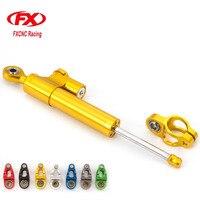 Fx CNC Universal Aluminum Motorcycle Steering Dampers Stabilizer For Suzuki GSXR 600 750 K4 1000 K9