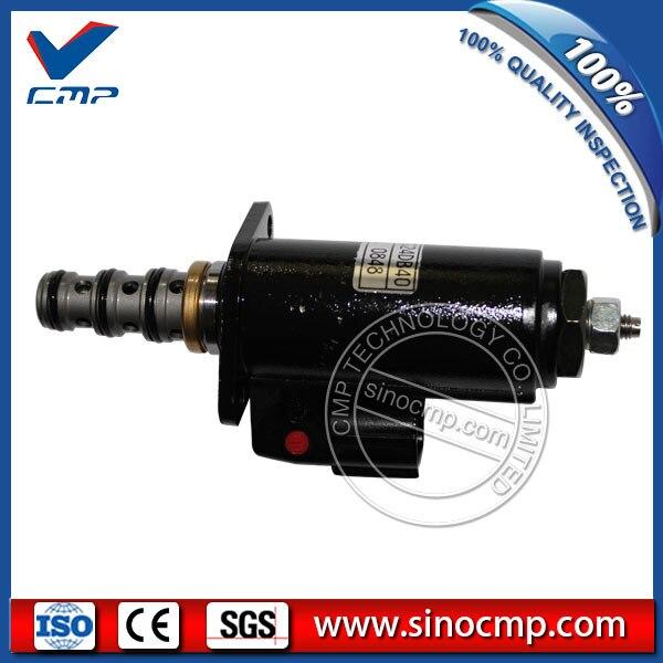 Kobelco 굴삭기 용 솔레노이드 밸브 yn35v00020f1 KWE5K-31/g24da40 g24da40