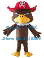 pirate eagle mascot costume pirate bird custom cartoon character cosply adult size carnival costume 3141