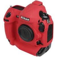 Für Nikon Silikon Kamera Fall Litschi Textur Kamera Schutz Abdeckung für Nikon D4 D4S D5 D500 D800 D810 D810a D850 d7500
