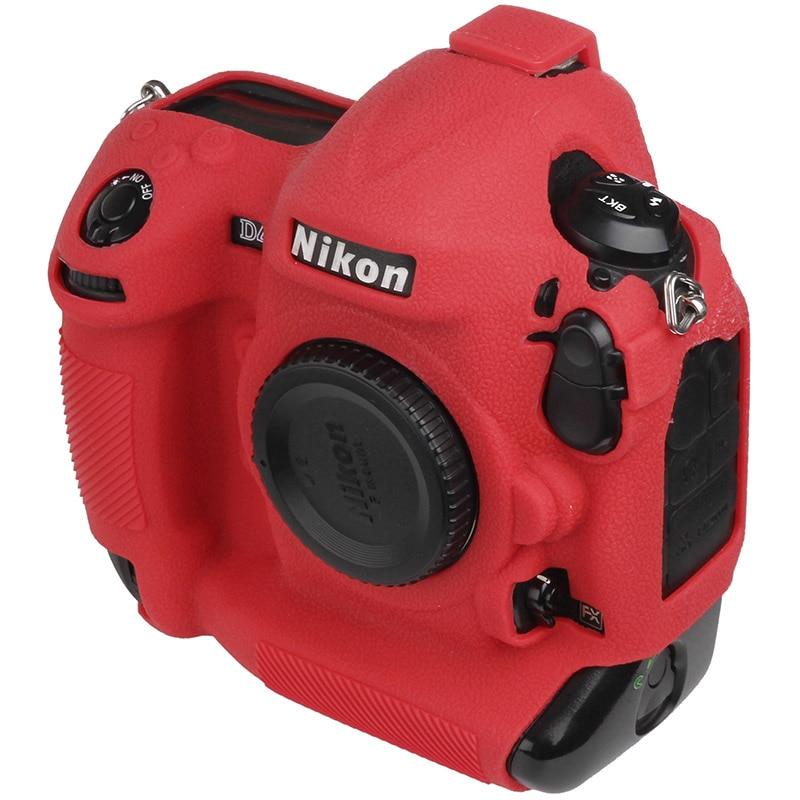 For Nikon Silicone Camera Case Litchi Texture Camera  Protector Cover For Nikon D4 D4S D5 D500 D800 D810 D810a D850 D7500