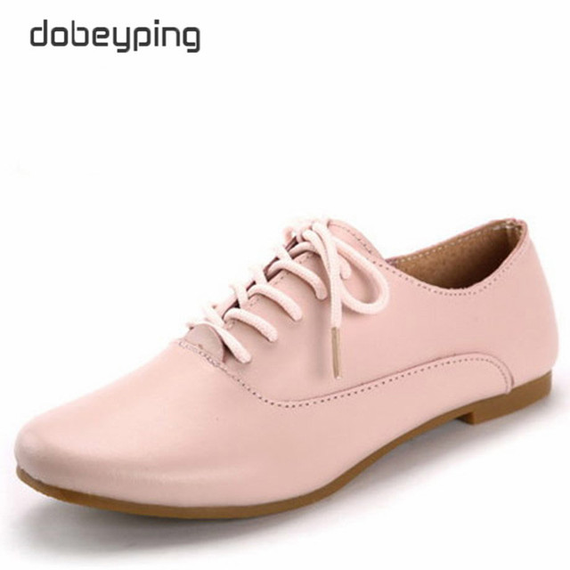 Натуральная Кожа Женщин Оксфорды Повседневная женская Обувь Босоножки Женщины Квартиры Острым Носом Женщина Мокасины Мягкая Вождения Обуви размер 35-40
