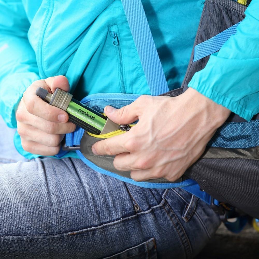 Открытый Портативный L630 фильтр для воды комплект аварийного выживания для Пеший туризм и кемпинга