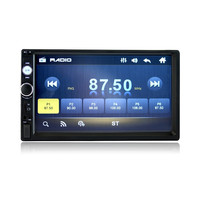 Wince 7 inch 2 Din HD Touch Screen Bluetooth Car MP5 Player Car MP4 player support Bluetooth call reversal priority