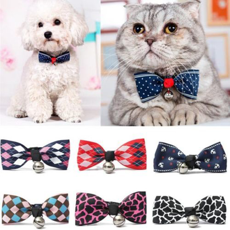 Lacontrie Hot Sales Multi Colors Lovely Bow Cats Dog Tie Dogs Bowtie Collar font b Pet