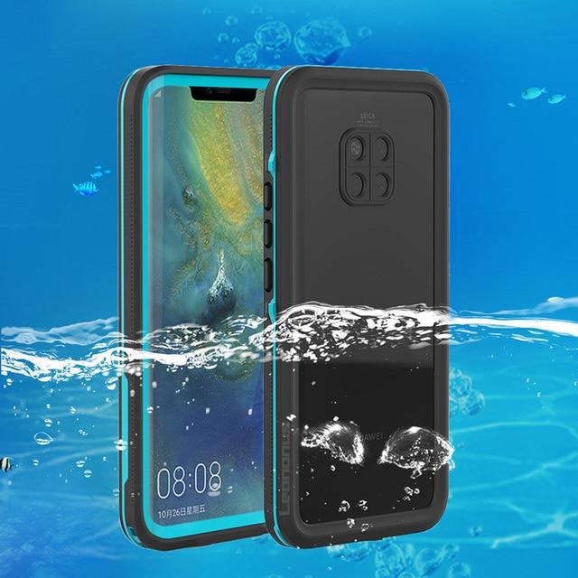 Mergulho Mergulho Caso Prova Para Huawei Companheiro 20 Pro Caso Natação IP68 20 À Prova D' Água Desporto Ao Ar Livre Tampa Para Huawei Companheiro pro Fundas