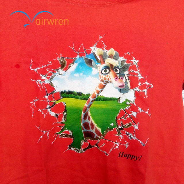 2017 New condition fabric printer for t-shirt,garment printing a4 size