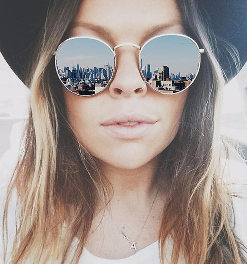 HTB1EwtqLXXXXXb.XXXXq6xXFXXXt - Round Sunglasses Women Retro Brand Designer Classic Rose Gold Steampunk Sun Glasses Men UV400 Rayed Mirror Female UV400