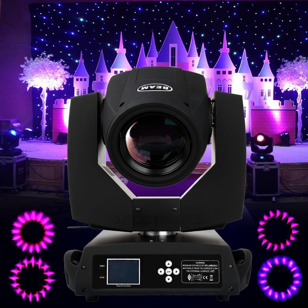 9396e7f404594 (Transporte De DE) 230 W Osram 7R Zoom 16 Prism Moving head Light DMX DJ  Stage Disco Iluminação Bar