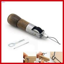 Nowy profesjonalny ścieg skórzany szydło szydło uniwersalny skórzany Quick Speed Stitcher szycie narzędzie szydełkowe tanie tanio Narzędzia ręczne Połączenie VEHTRKACNTOL Maszyny do obróbki drewna Punch As picture Leather Awl Universal 0 2kg Guangong China