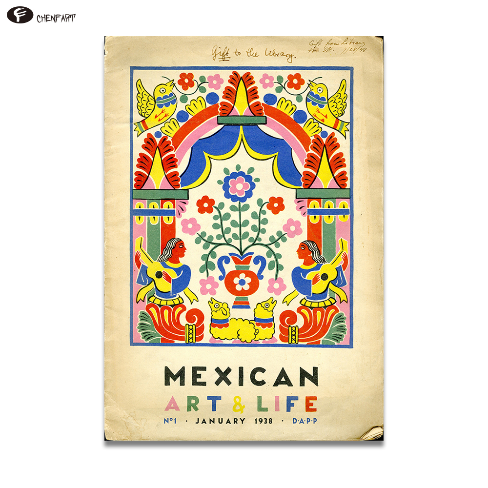Desert Print Cactus Poster Wall Art Mexican Western Decor , Boho Art ...