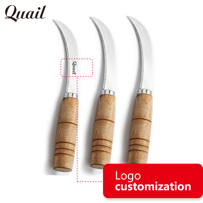 Quail Fashion Design Wood Handle Tactical Knife Special ...