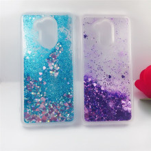 For Huawei Honor 6A case Dynamic Liquid Glitter Bling Sand Soft TPU Phone Coque cover