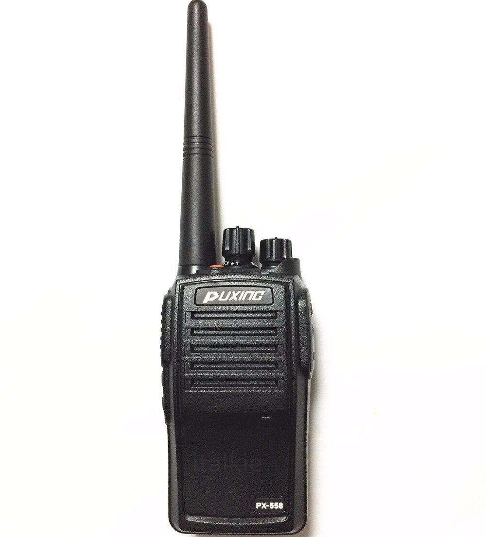 bilder für 2 stücke puxing px-558 (px-508) ip67 wasserdicht radio, staubdicht Funkgeräte professionelle Walkie Talkie PX558 PX508 Transceiver