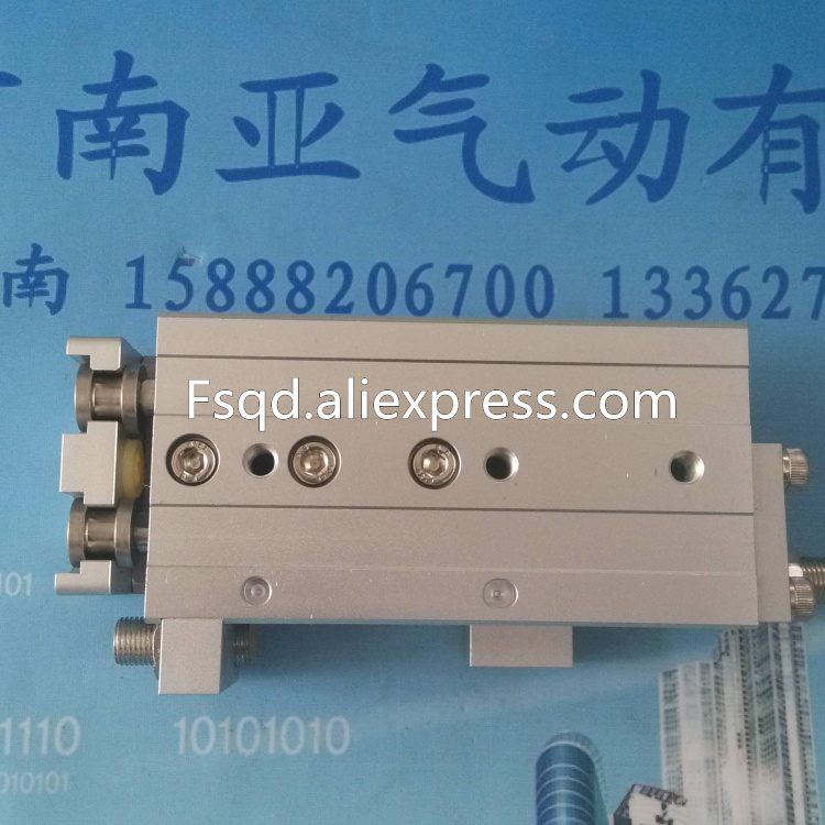 цена на MXQ16-10AS MXQ16-20AS MXQ16-30AS MXQ16-40AS SMC air slide table cylinder pneumatic component MXQ series