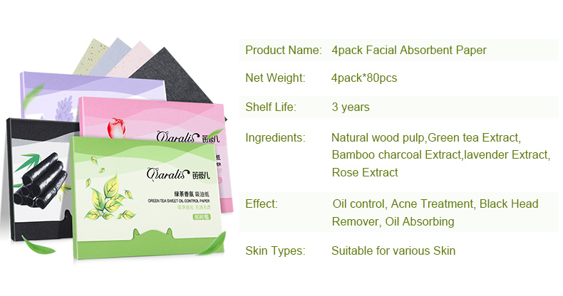 HTB1EwvCexuTBuNkHFNRq6A9qpXae - 4 Pack/lot Daralis Facial Absorbent Paper Oil Control Sheets Deep Cleanser-4 Pack/lot Daralis Facial Absorbent Paper Oil Control Sheets Deep Cleanser
