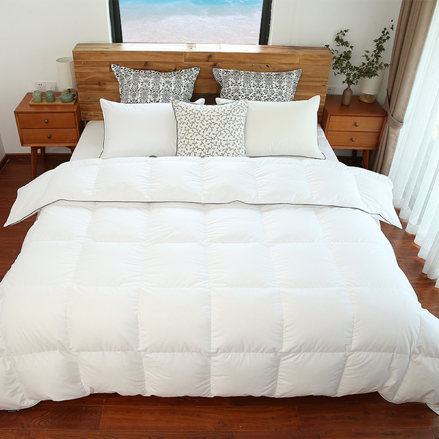 eiderdown warmer silk bedding blanket cool the is summer down comforters goose item sidanda duvets size king comforter by air from conditioning duvet quality in than white top