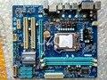 Envío gratis 100% original placa madre para gigabyte ga-h55m-s2v lga1156 ddr3 h55m-s2v 16 gb soporte i3 i5 i7 placa madre de escritorio